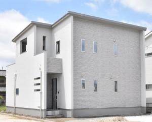 7号地モデルハウス外観