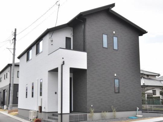 4号地モデルハウス外観