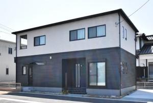 3号地モデルハウス外観