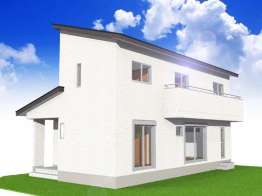 熊本県熊本市西区中島町 新築一戸建て 4号地モデルハウスイメージパース
