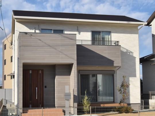 熊本県熊本市北区楡木6丁目 新築一戸建て 10号地モデルハウス外観