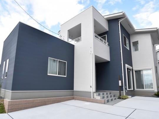 熊本市北区楡木6丁目 新築一戸建て 16号地モデルハウス外観