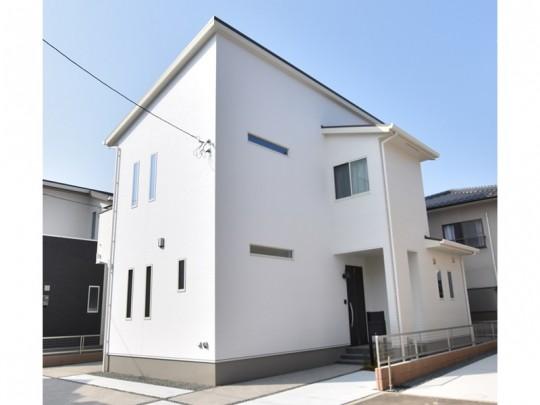 熊本市西区城山下代4丁目 新築一戸建て 4号地モデルハウス外観