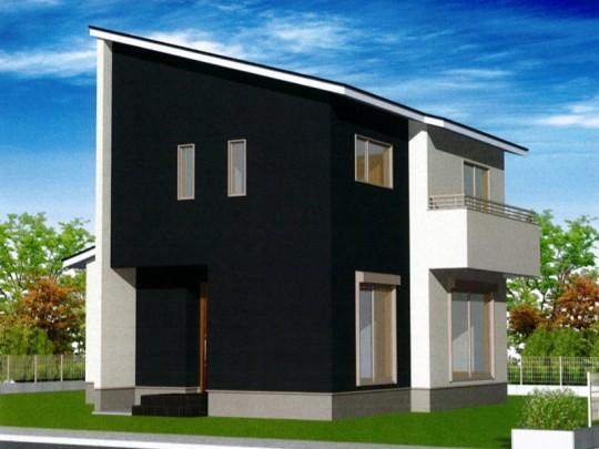 熊本市北区麻生田2丁目 新築一戸建て 18号地モデルハウスイメージパース