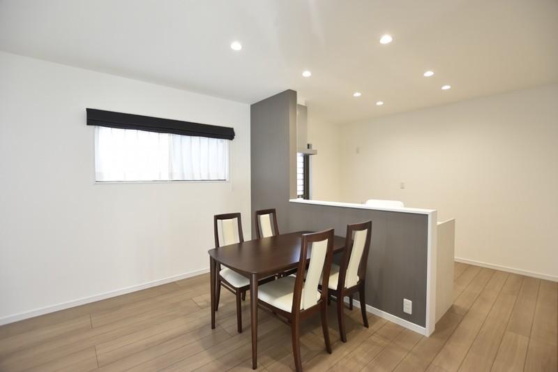 熊本市西区城山下代4丁目 新築一戸建て 1号地モデルハウス・食事を楽しむダイニング