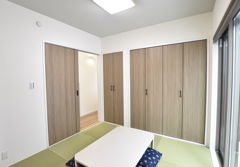 熊本市西区城山下代4丁目 新築一戸建て 1号地モデルハウス・落ち着いた雰囲気の和室