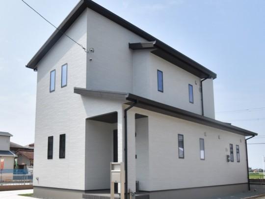 熊本県熊本市西区城山下代4丁目 新築一戸建て 2号地モデルハウス外観