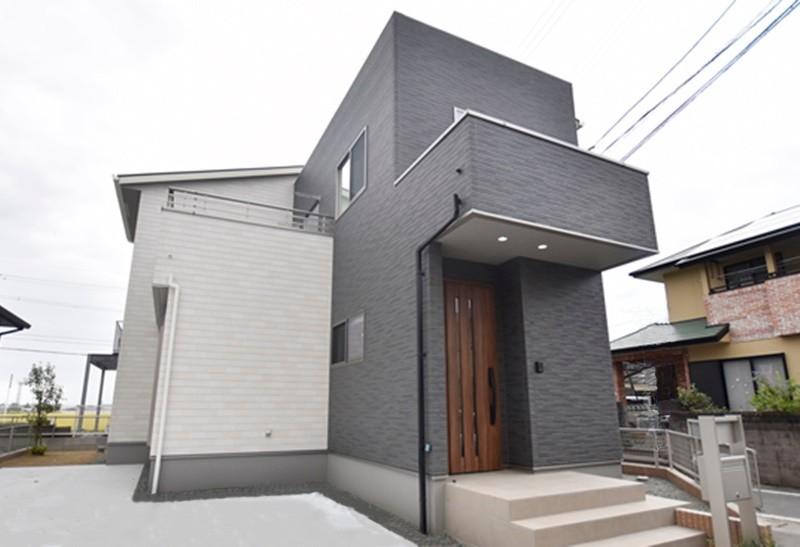 熊本市西区城山下代4丁目 新築一戸建て 1号地モデルハウス外観