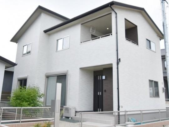 熊本県熊本市東区戸島6丁目 新築一戸建て 2号地モデルハウス外観
