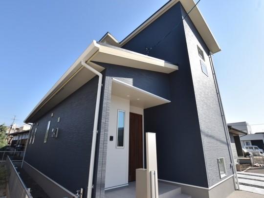 熊本市東区画図重富 新築一戸建て 2号地モデルハウス外観