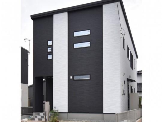 熊本県熊本市北区 新築一戸建て 5号地モデルハウス外観
