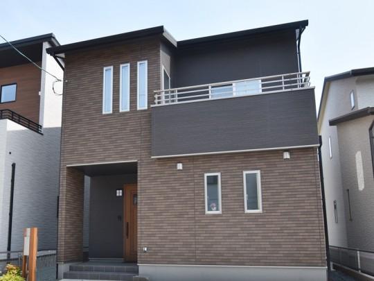 熊本市北区鶴羽田4丁目 新築一戸建て 2号地モデルハウス・外観