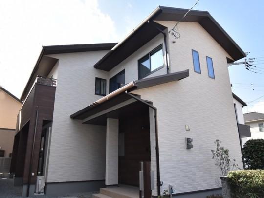 熊本市東区御領2丁目 新築一戸建て2号地モデルハウス外観