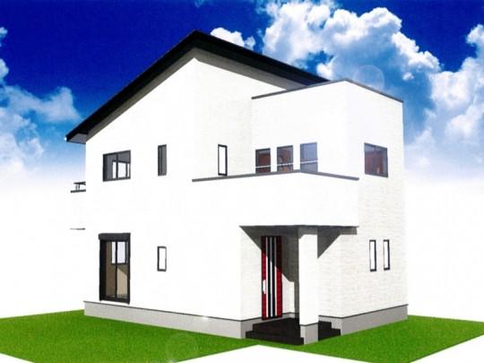 熊本県合志市須屋 新築一戸建て 2号地モデルハウスイメージパース