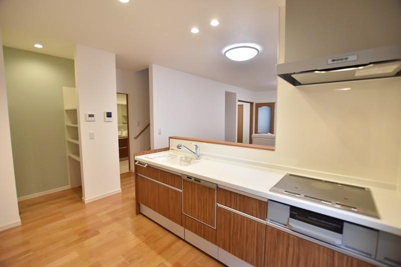 熊本市東区御領2丁目 新築一戸建て 2号地モデルハウス キッチン