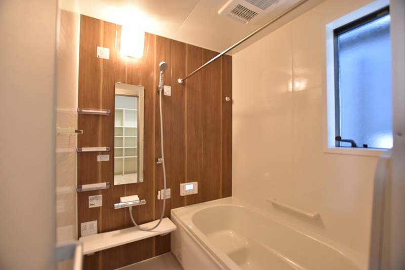 熊本市東区御領2丁目 新築一戸建て 2号地モデルハウス・浴室