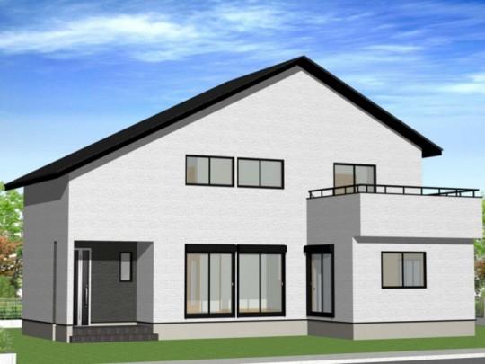 熊本市北区植木町 新築一戸建て 2号地モデルハウスイメージパース
