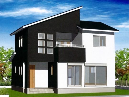熊本市東区戸島西7丁目 新築一戸建て 3号地モデルハウスイメージパース