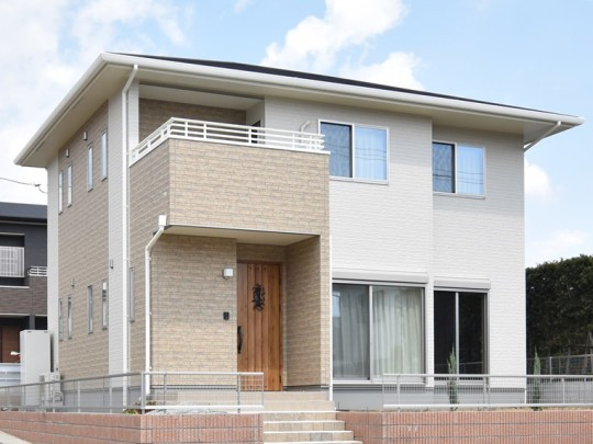 熊本市東区戸島西7丁目 新築一戸建て 5号地モデルハウス外観