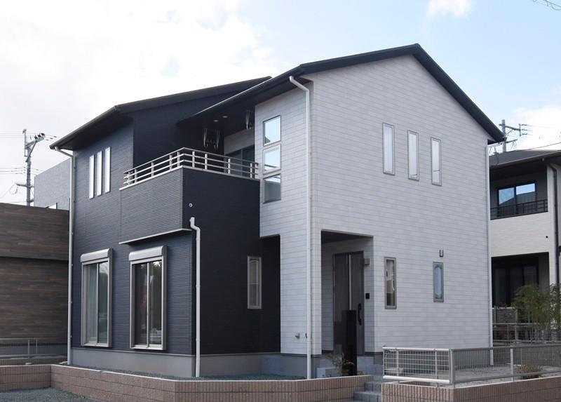熊本市東区戸島西7丁目 新築一戸建て 7号地モデルハウス外観