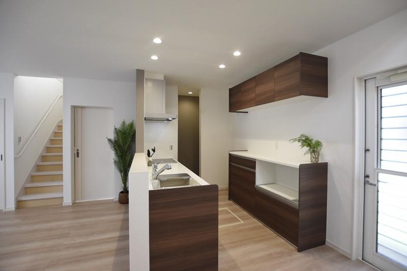 熊本市東区戸島西7丁目 新築一戸建て 5号地モデルハウス・会話の弾む対面式キッチン