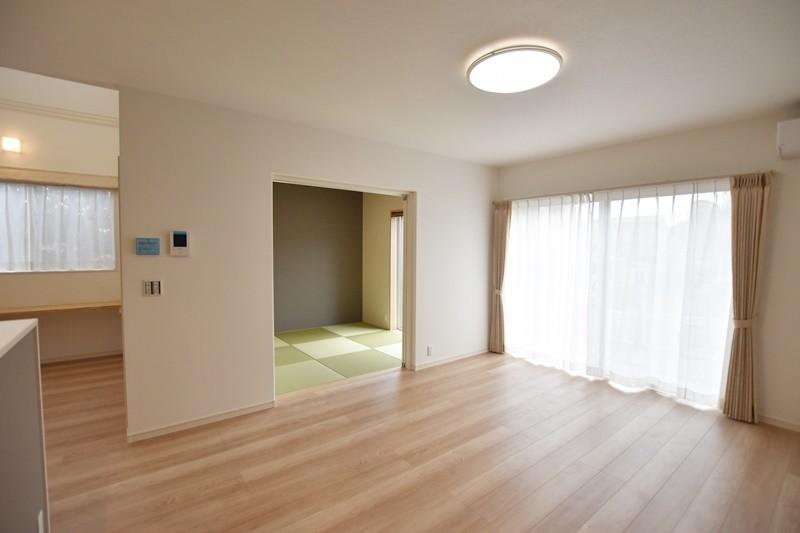 熊本市東区戸島西7丁目 新築一戸建て 5号地モデルハウス・リビング