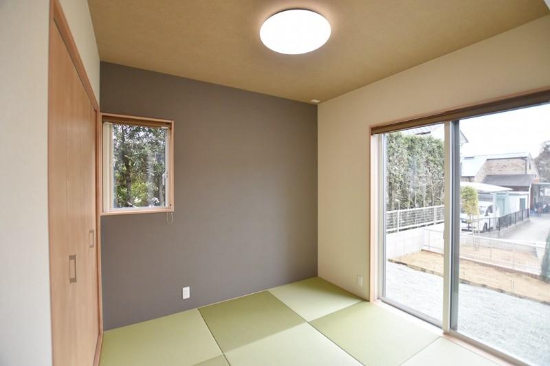 熊本市東区戸島西7丁目 新築一戸建て 5号地モデルハウス・日当たり良好の和室