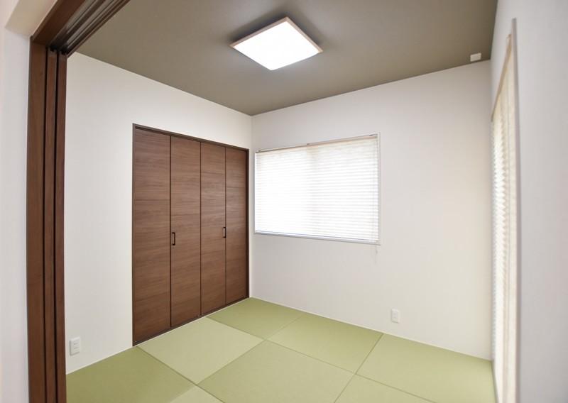 熊本市南区薄場2丁目 新築一戸建て 2号地モデルハウス・和室