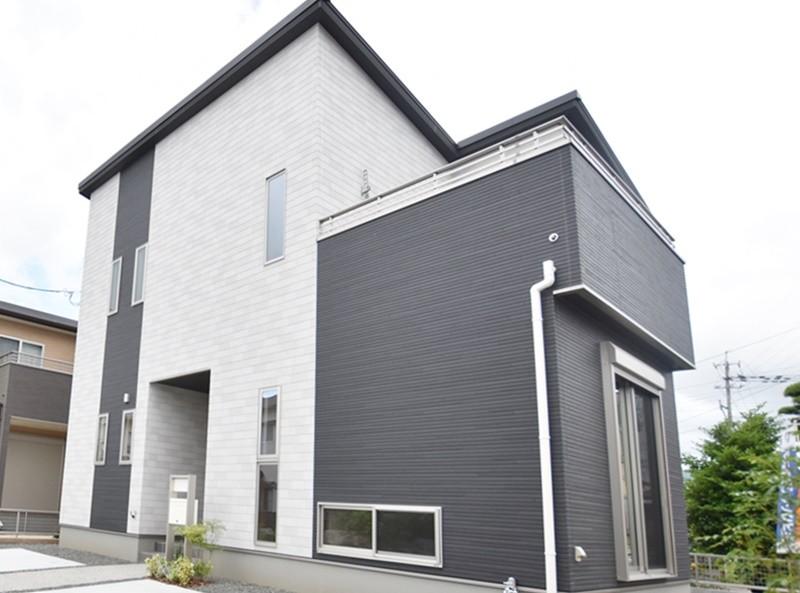 熊本市南区薄場2丁目 新築一戸建て 1号地モデルハウス外観