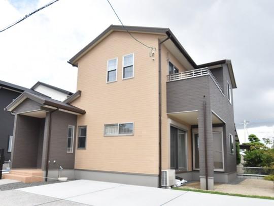 熊本市南区薄場2丁目 新築一戸建て 2号地モデルハウス・外観