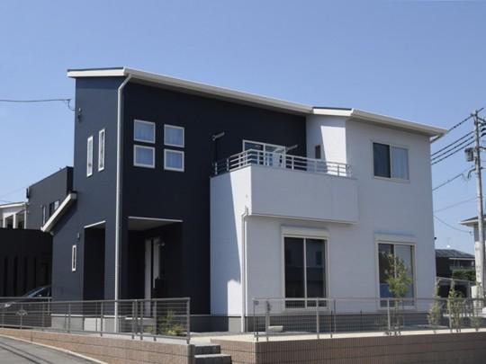 熊本市東区戸島西7丁目 新築一戸建て 11号地モデルハウス外観