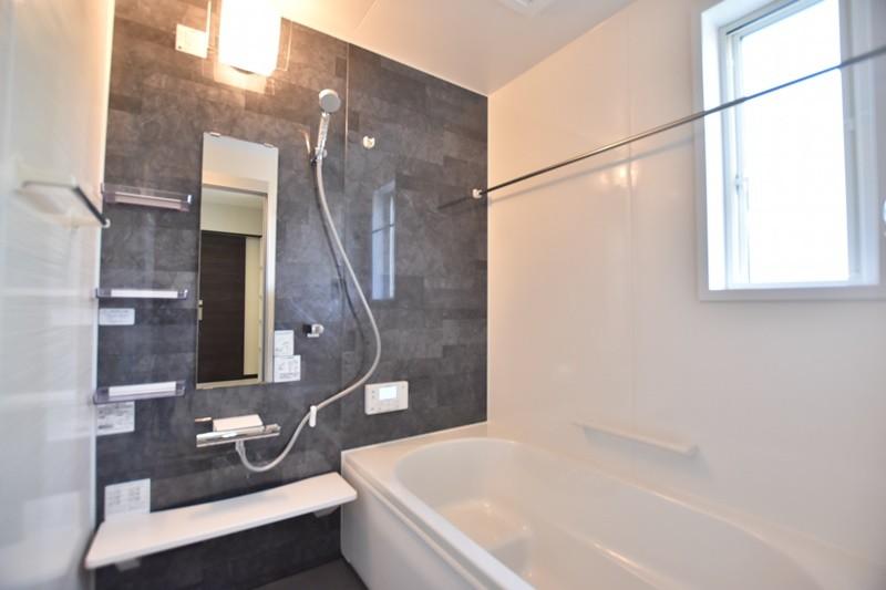 熊本市南区薄場2丁目 新築一戸建て 3号地モデルハウス・浴室