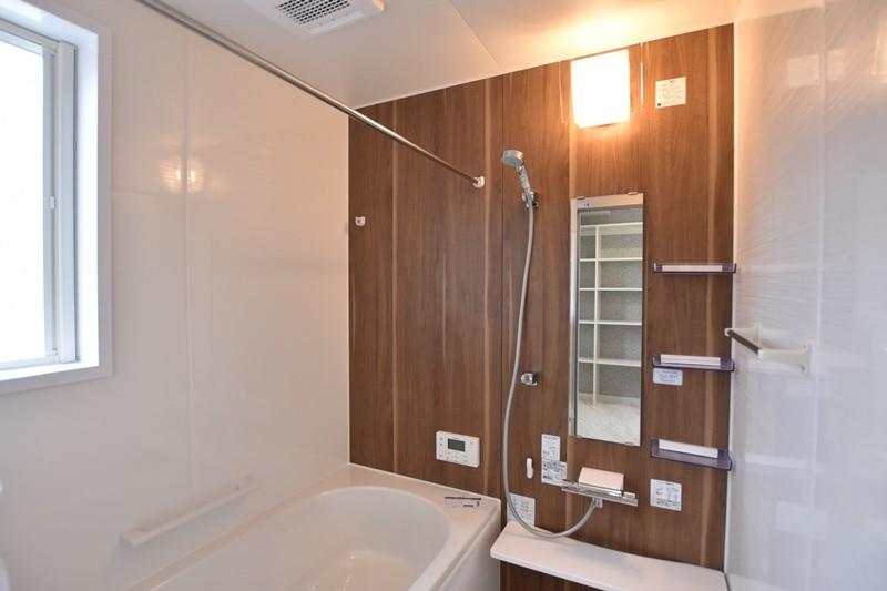 熊本市東区戸島西7丁目 新築一戸建て 5号地モデルハウス・浴室