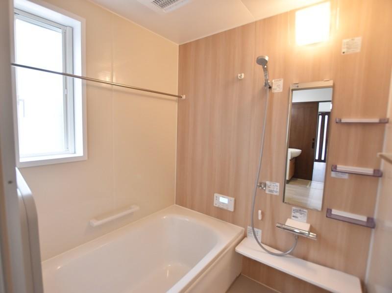 熊本市南区薄場2丁目 新築一戸建て 2号地モデルハウス・浴室