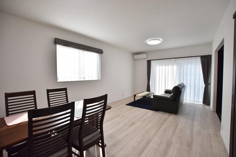 熊本市南区薄場2丁目 新築一戸建て 3号地モデルハウス・LDK