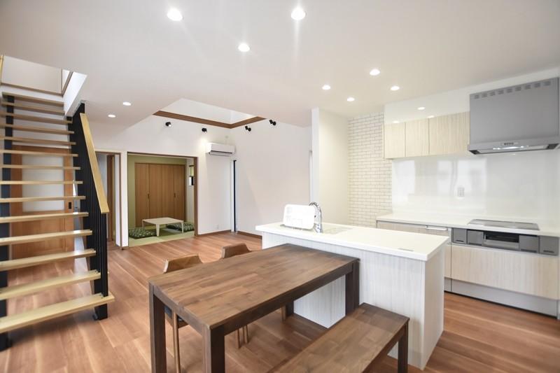熊本市東区戸島西7丁目 新築一戸建て 9号地モデルハウス・LDK