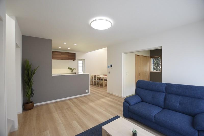 熊本市東区戸島西7丁目 新築一戸建て 5号地モデルハウス・家族との距離感がちょうどいいLDK