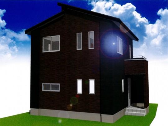 熊本市北区楡木4丁目 新築一戸建て 1号地モデルハウスイメージパース