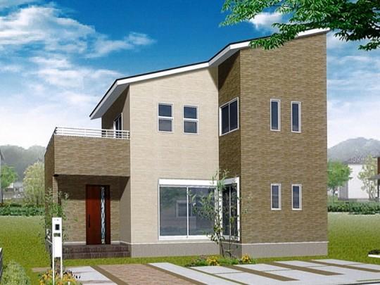 熊本市北区植木町投刀塚 新築一戸建て 2号地モデルハウスイメージパース