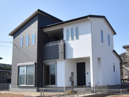 熊本市東区八反田2丁目 新築一戸建 2号地モデルハウス・外観