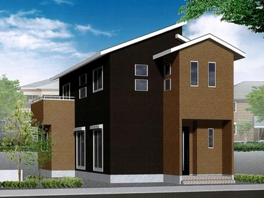 熊本市東区八反田2丁目 新築一戸建て 3号地モデルハウスイメージパース