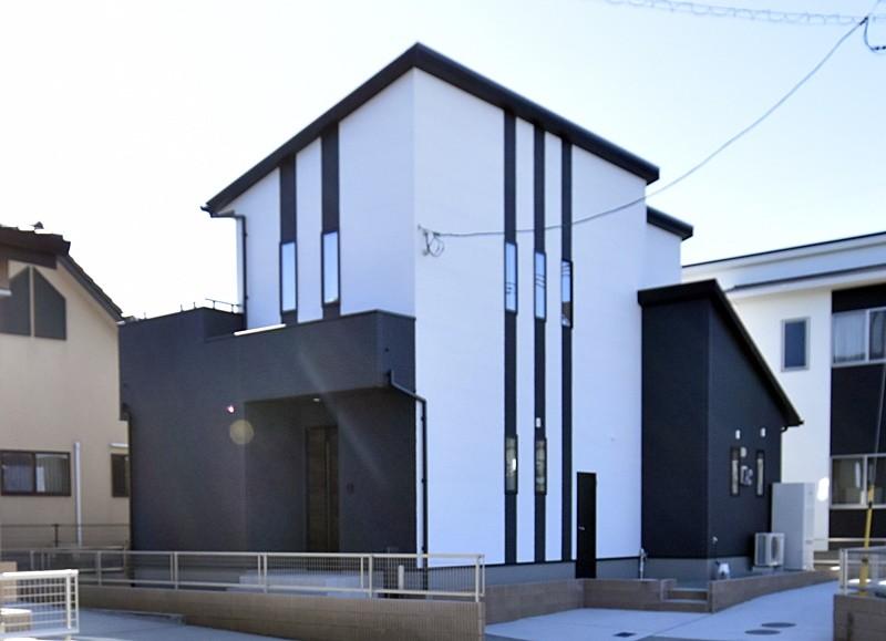 熊本市北区植木町投刀塚 新築一戸建て 6号地モデルハウス外観