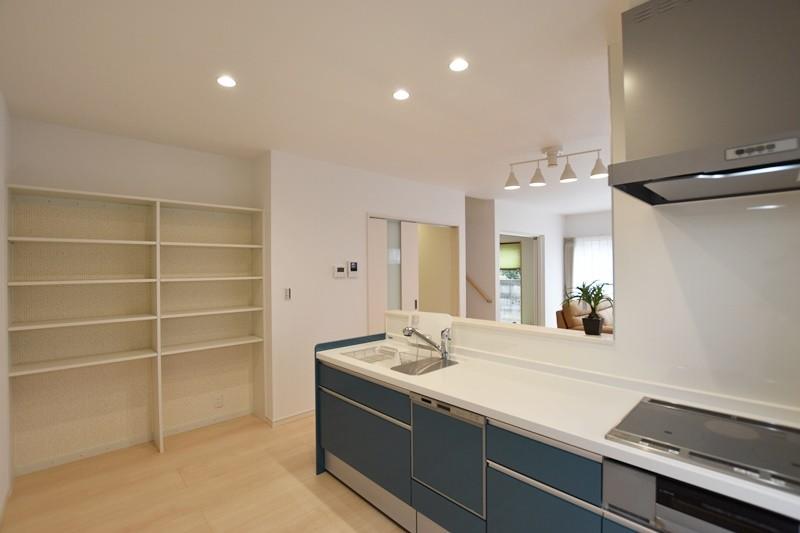 熊本市北区楡木4丁目 新築一戸建て 2号地モデルハウス・パントリー