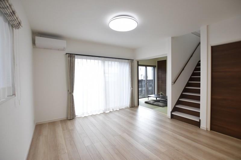 熊本市北区楡木4丁目 新築一戸建て 1号地モデルハウス・リビング