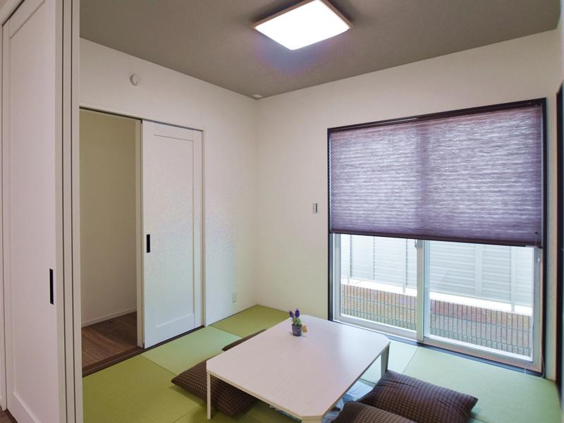熊本市北区植木町投刀塚 新築一戸建て 4号地モデルハウス・和室