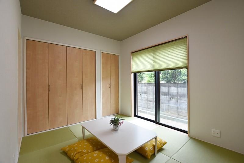 熊本市北区楡木4丁目 新築一戸建て 2号地モデルハウス・和室