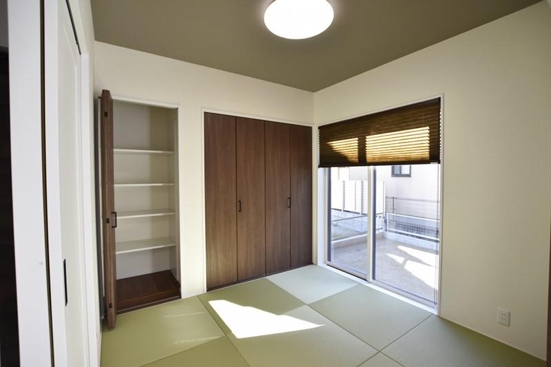 熊本市北区植木町投刀塚 新築一戸建て 6号地モデルハウス・和室