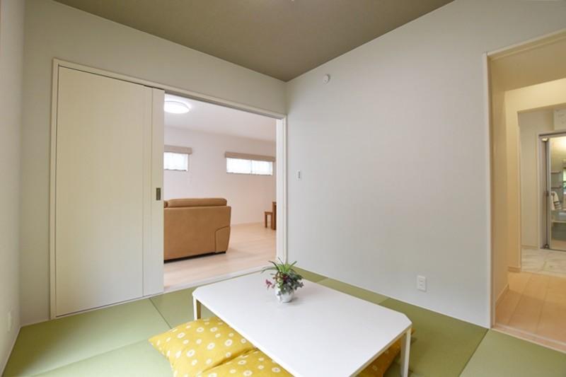 熊本市北区楡木4丁目 新築一戸建て 2号地モデルハウス・客間としても使える和室