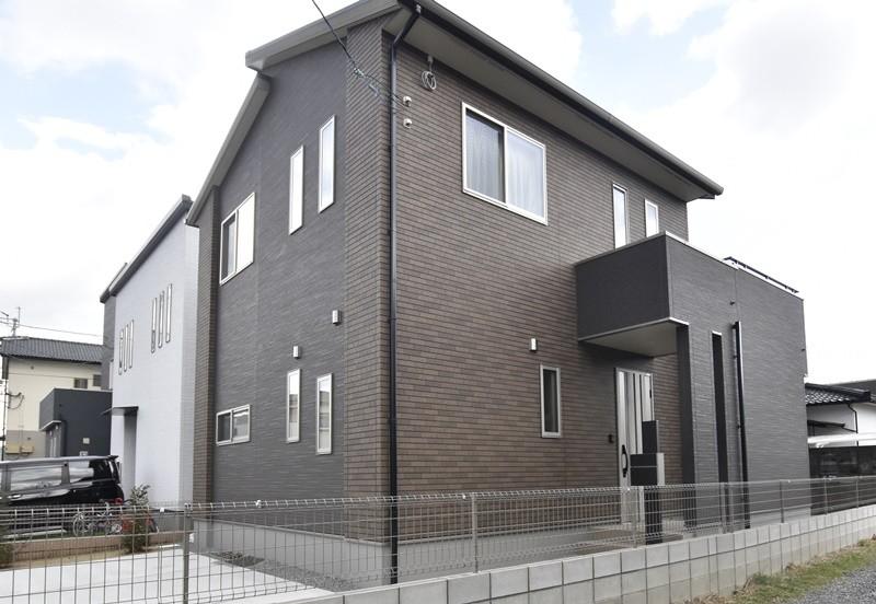 熊本市北区楡木4丁目 新築一戸建て 1号地モデルハウス外観