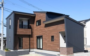 【社内技術コンテストモデルハウス】熊本市北区植木町投刀塚 新築一戸建て 1号地モデルハウス外観